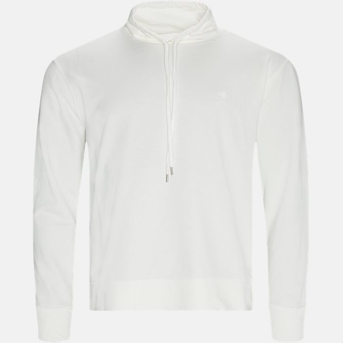 Sweatshirts - Regular fit - Hvid